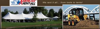 rent party supplies american rent all equipment rental party supplies tent rentals