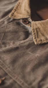 the long haul jacket in field tan waxed canvas