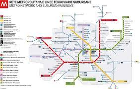 La Metro Map Pdf by Mappa Metro Milano