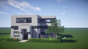 minecraft house tutorial how to build a modern in youtube idolza