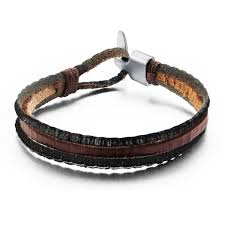 Handmade Mens Bracelets - handmade leather cool style leather bracelet for bracelet