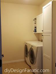 Installing Wall Cabinets In Laundry Room Diy Design Fanatic Laundry Room Makeover
