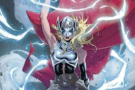 i am woman hear me thor the verge