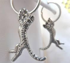 cat earrings cat earrings sterling silver fazio s cat jewelry