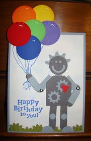 cogs wheel punch u003d 6 year old u0027s birthday card my country loft