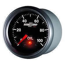 oil pressure warning light 2 1 16 oil pressure 0 100 psi stepper motor sport comp ii