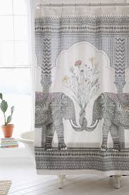 elephant shower curtains bathroom curtain circus themed striking