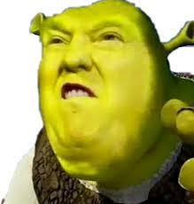 Shrek Meme - trump donaldtrump shrek meme stealthis stealthissticker