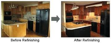 price to refinish kitchen cabinets refinish kitchen cabinets cost counterps bckyrd refacing for