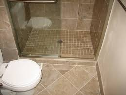 Bathroom White Porcelain Flooring Stainless by Attractive Bathroom Floor Tile Ideas For Small Bathrooms Using