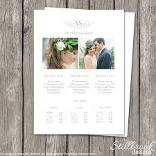 Pricing Spreadsheet Template Modern Photography Price List Template Deals Infoparrot