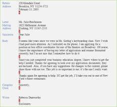 Business Letter Return Address mla business letter format sle craftwords co inside mla