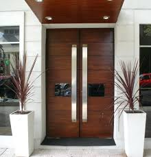 Exterior Doors Wooden Real Wood Front Doors Exterior Strong Impression Of Rustic Front