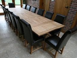 Table Awesome Extra Large Dining American Made High End Within - Extra long dining room table sets