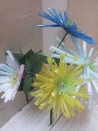 straw flowers straw flower craft richa agarwal