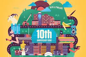 Columbia College Chicago Campus Map by Demo Magazine Celebrates 10th Anniversary 2015 Columbia