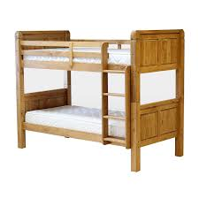 wooden bunk beds with desk and futon corona bunk bed frame wooden