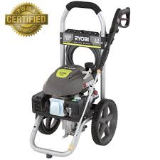 ryobi 2 700 psi 2 3 gpm gas pressure washer ry802700a the home depot