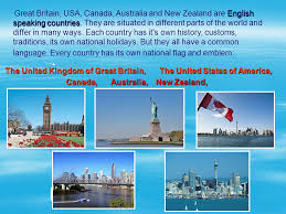 speaking countries ppt