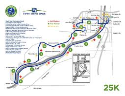 Map Running Routes by River Bank Run 2017 Race Routes Spectator Spots Wzzm13 Com
