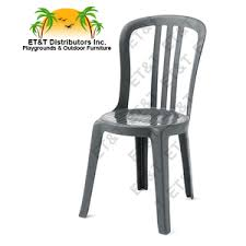 Miami Bistro Chair Grosfillex Miami Bistro Stacking Resin Patio Dining Chair W O Arms