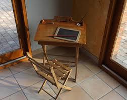 bureau ecolier en bois bureau ecolier etsy