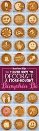 24 clever ways to decorate a store bought pumpkin pie