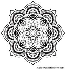 advanced mandala coloring pages bestofcoloring