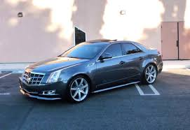 lowered cadillac cts mods 20 wheels kit lowering more pics