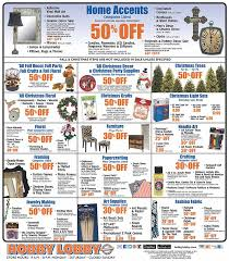 hobby lobby pre black friday trees crafts sale