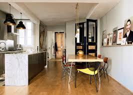sol cuisine ouverte parquet cuisine ouverte avec rev tement sol cuisine les possibilit
