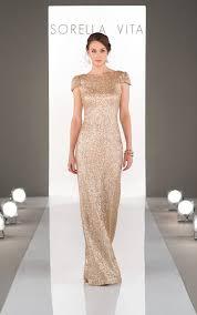 metallic gold bridesmaid dresses bridesmaid dresses modern metallic bridesmaid dress sorella vita