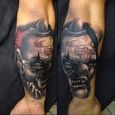 100 hilarious clown tattoos and their meanings