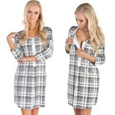 maternity nightwear front opening maternity nightwear ebay