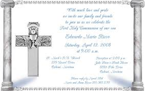 holy communion invitations holy communion invitations template best template collection