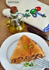 chausson cuisine gâteaux en espagne recette chausson salé viande ou thon