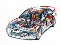 2015 mitsubishi rally car mitsubishi lancer evolution iv gr a wrc u00271997 u201398 cutaway cars