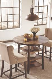 Small Circular Dining Table And Chairs Dining Table Size U0026 Style Guide Ashley Furniture Homestore