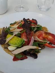 restaurant cuisine nicoise homard du maine en salade façon niçoise restaurant les ombres