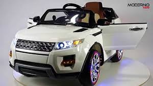 land rover car range rover evoque style kids ride on toy car with remote control