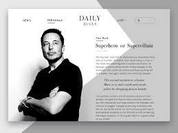 design magazine online daily bugle online magazine uplabs