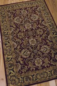 Burgundy Rug Nourison India House Collection 100 Wool Rugs