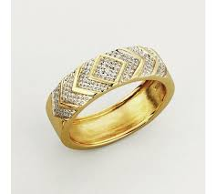 what is a commitment ring buy revere men s 9ct gold diamond accent commitment ring at argos
