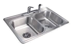 Tuscany  DoubleBowl Stainless Steel Kitchen Sink Kit At Menards - Menards kitchen sinks
