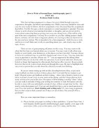 Resume Biography Sample by Biography Sample Paper Professional Essay Samples Professional