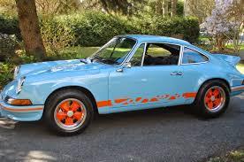 gulf porsche 911 precision built porsche 1973 911 rs gulf blue www