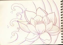 lotus flower tattoo sketch photo 2 photo pictures and