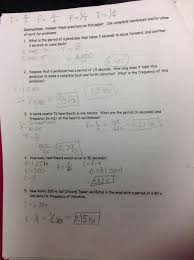 tenth grade lesson periodic motion and waves betterlesson