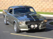 Black 67 Mustang Coupe 1967 Ford Mustang Ebay