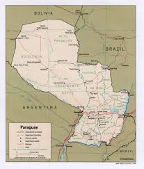 Asuncion Paraguay Map Paraguay Maps Perry Castañeda Map Collection Ut Library Online